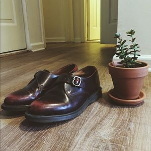Dr. Martens buckle loafers